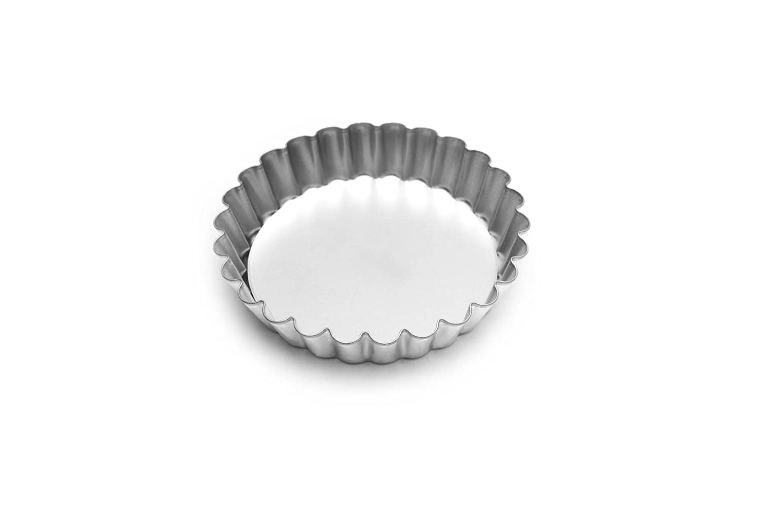 Fox Run 4591 Tartlet/Quiche Pan with Removable Bottom, Tin-Plated Steel, 4-Inch