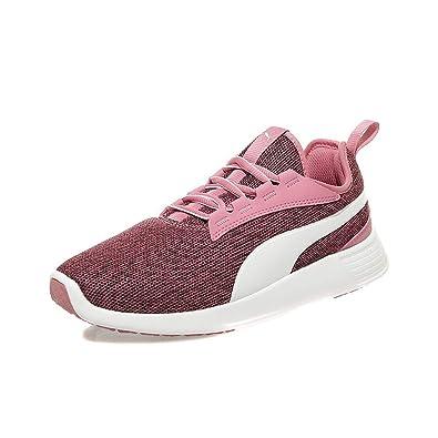site réputé 6abb8 7c8b5 Puma Chaussures Trainer Evo V2 Knit Rose Femme Fille: Amazon ...