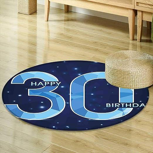 Alfombra Redonda para 31 cumpleaños, decoración de Tartas ...