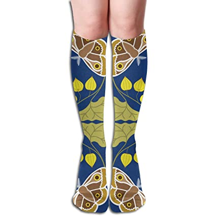 Amazon com: Moth and Owl Compression Sock for Women & Men