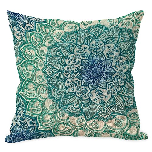 Top 10 Best Mandala Pillow Covers 18x18 For 2019 Ace Reviews