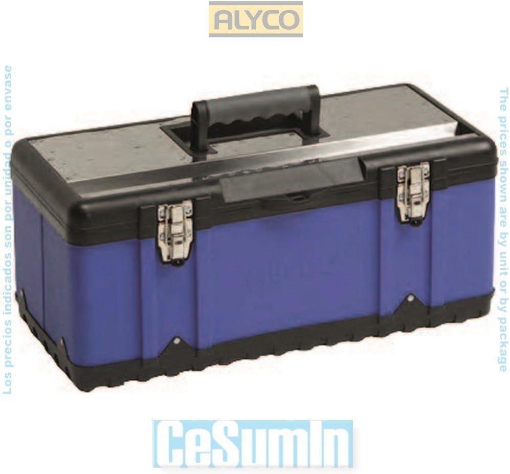 ALYCO 183356 - Caja metalica 580x300x255 mm: Amazon.es: Bricolaje y herramientas