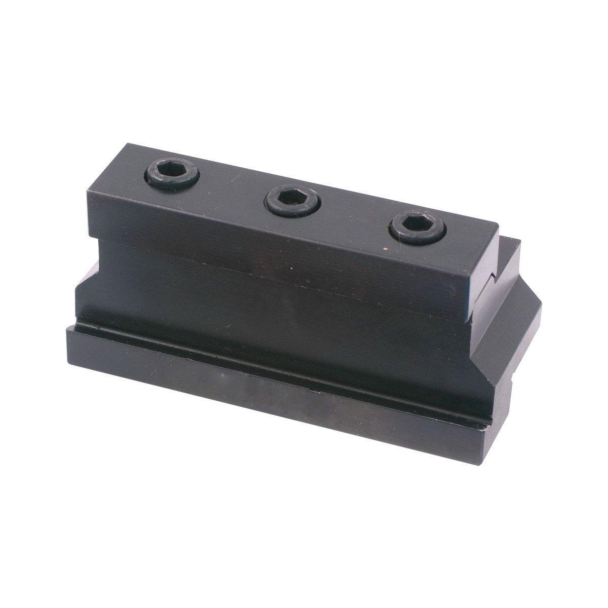 HHIP 3900 5354 Carbide Indexable Cut Off Individual Tool Block 3.40 Length x 1.3 Width x 1.50 Height