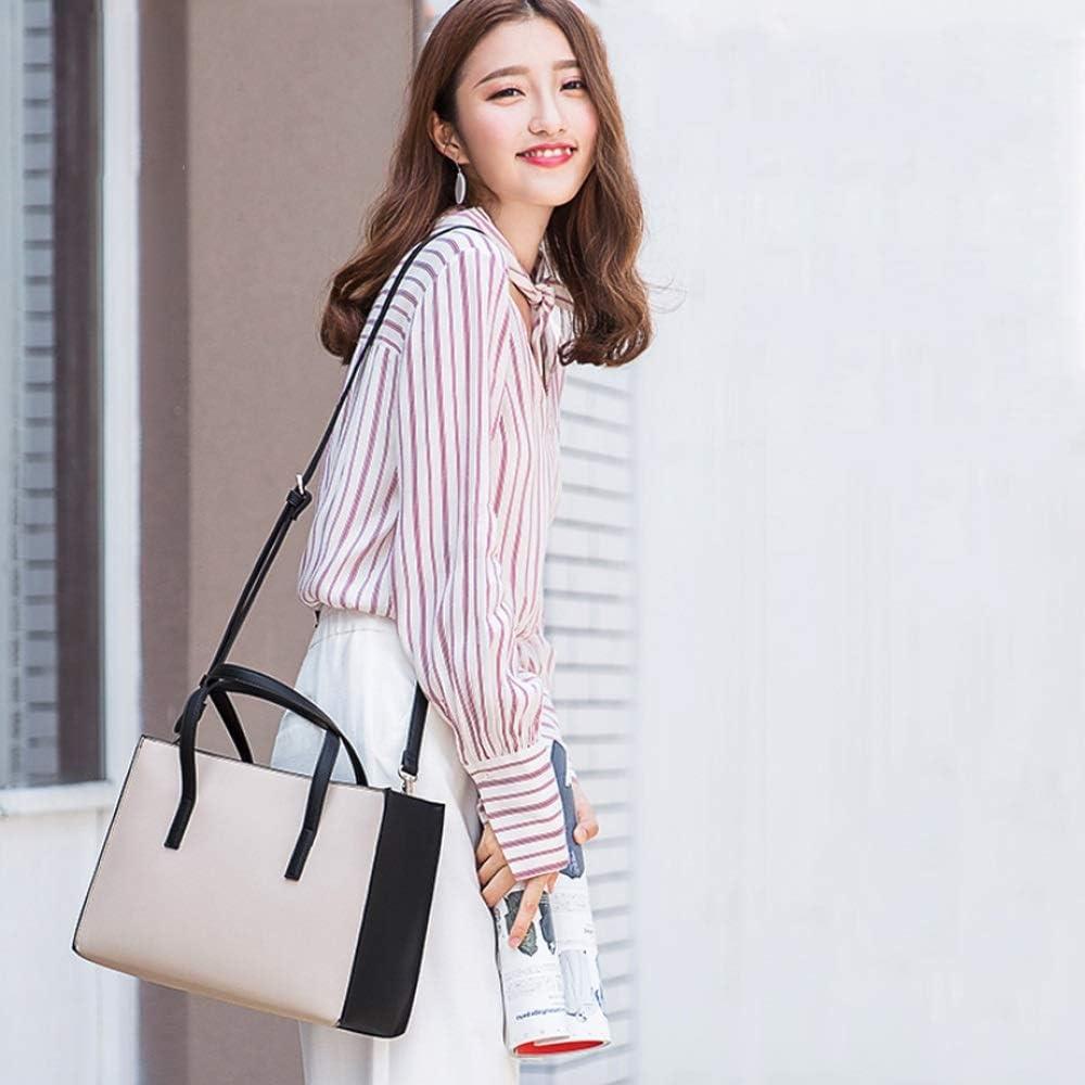 LBYMYB Handbag Big Bag Large Capacity Fashion Lady Shoulder Slung Portable Dual-use Bag Hand Bag Color : Gray