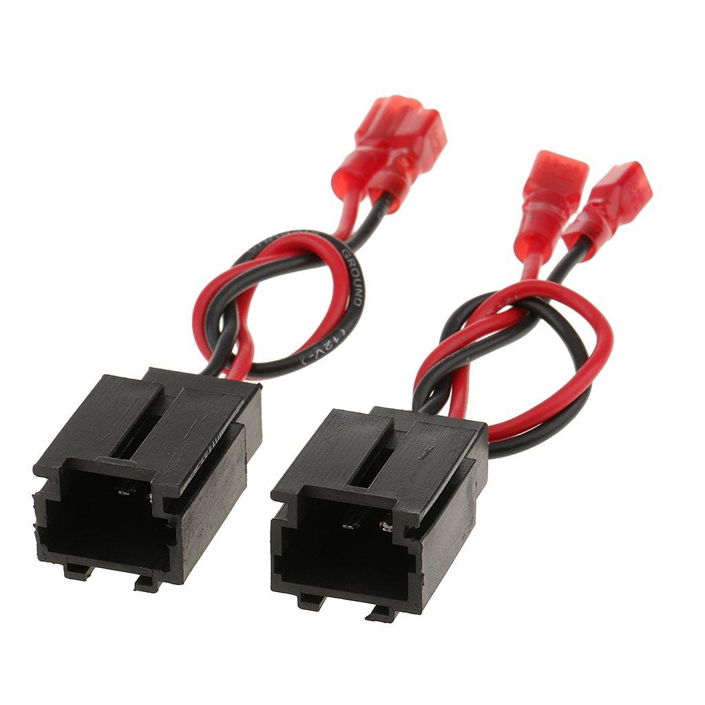 H HILABEE Cable de Altavoz de Audio para Autom/óvil para Peugeot 206 para Citroen