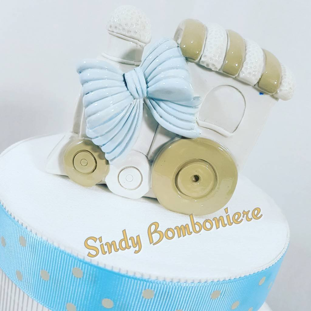 Kuchen 20 Sussigkeiten Plexiglas Zug Baby Taufe Geburt Torta Da 20