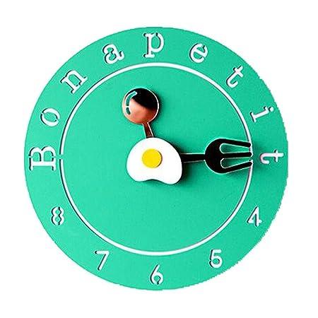 spoon sports wall clock