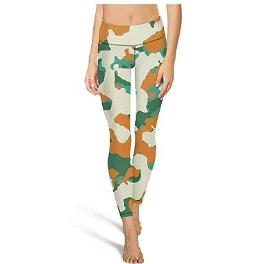 30d300d151e37 Mackiintion womens colorful leafy military camo yoga pants sports workout  leggings tight pants jpg 385x385 Military