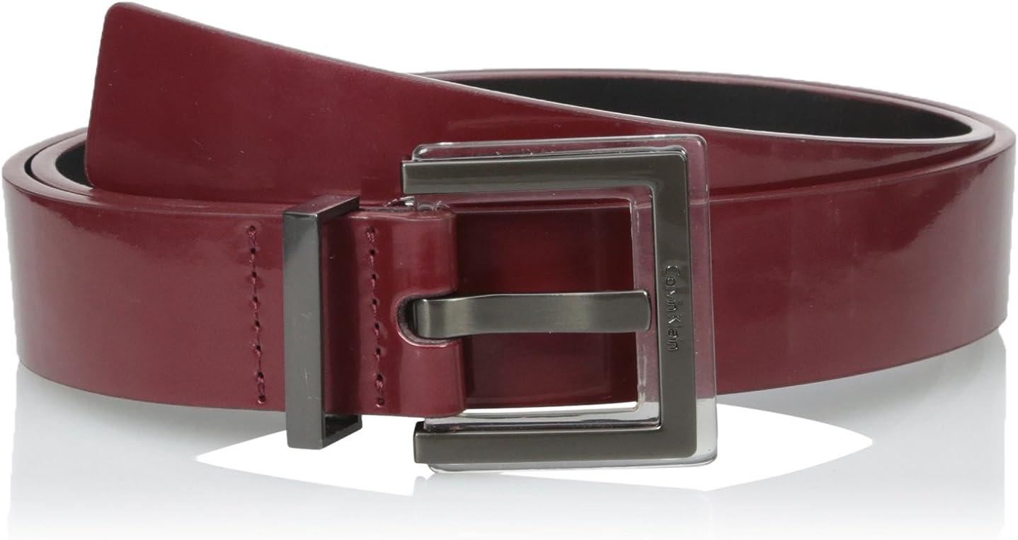 Calvin Klein Women's 30-mm Patent Belt