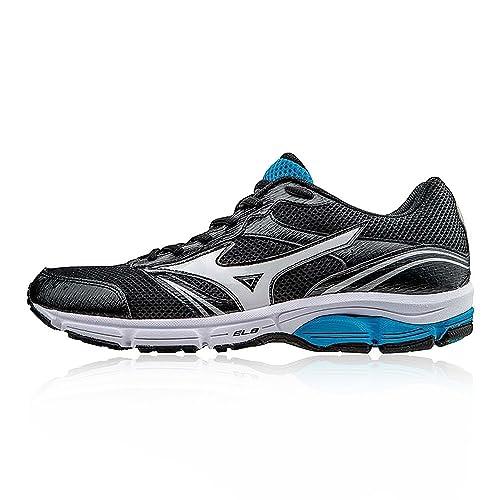 amazon com mizuno running shoes men s sneaker wave impetus 3 black rh amazon com