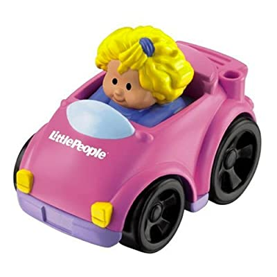 Little People Wheelies Coupe with Sarah Lynn: Toys & Games