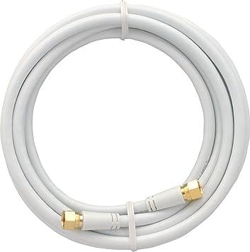 """SKT mak30003 Cable de módem, 300 cm""""Coaxial de Conector de Cable,"""