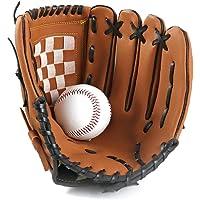 1pc Deportes Béisbol Y Softbol Guante Profesional De Béisbol Y Softball Mitt con Soft PU Sólida Engrosamiento De Piel…