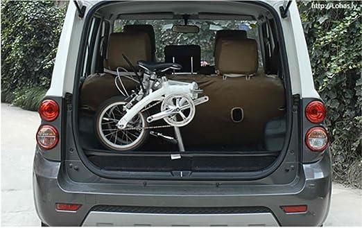 MASLEID bicicleta plegable bicicleta de montaña de 6 velocidades de 20 pulgadas , white: Amazon.es: Deportes y aire libre