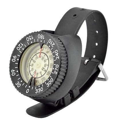 Coomir Compás Impermeable Ligero Ligero plástico del compás del diseño del Reloj del Salto para Nadar