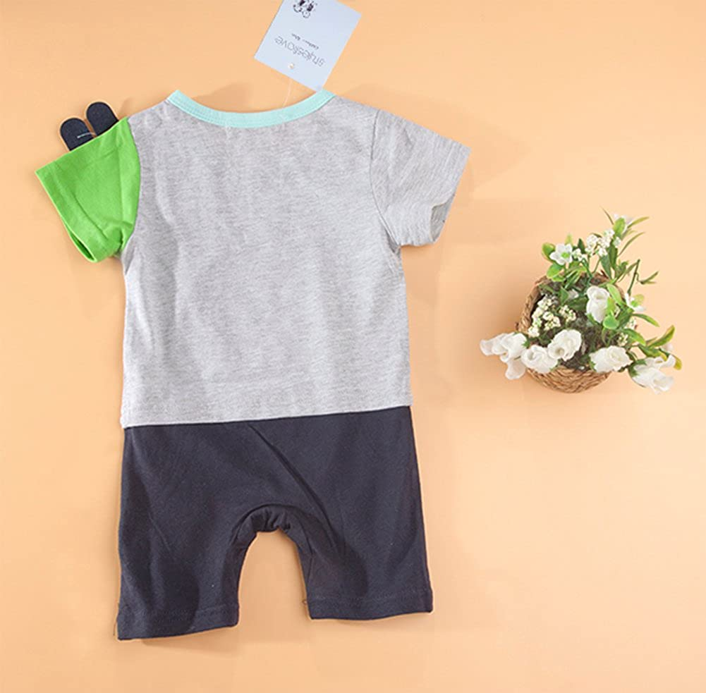 stylesilove Infant Toddler Baby Boy Dragon Costume Romper