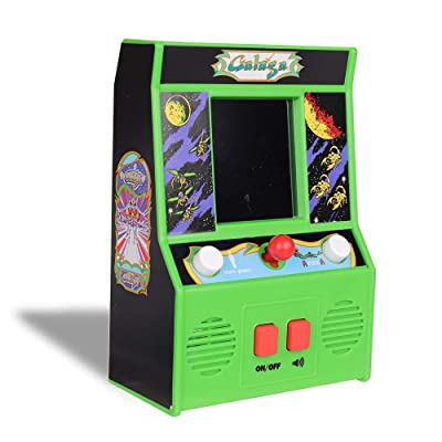 Basic Fun Galaga Mini Arcade Game (4C Screen): Toys & Games