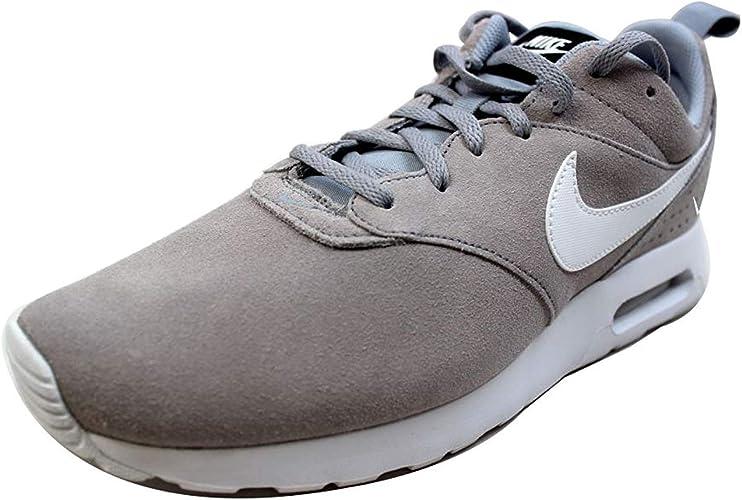 Nike Herren Air Max Tavas LTR Laufschuhe, Grau Weiß Schwarz