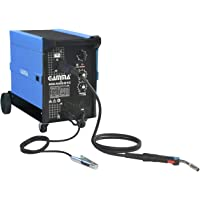 Maquina de Solda Mig Mag 220V, Gamma Ferramentas, G2033BR2, Azul