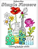 img - for Simple Flowers: Coloring Book for Adults book / textbook / text book