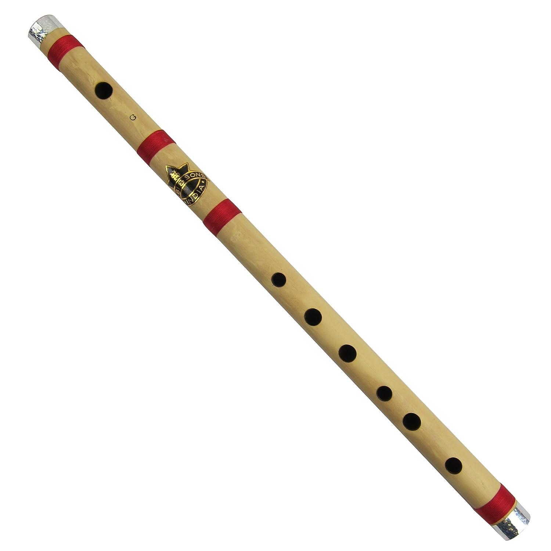Bamboo Flute Bansuri Indian Music Instrument Transverse Type ShalinIndia MPN-bansuri001g
