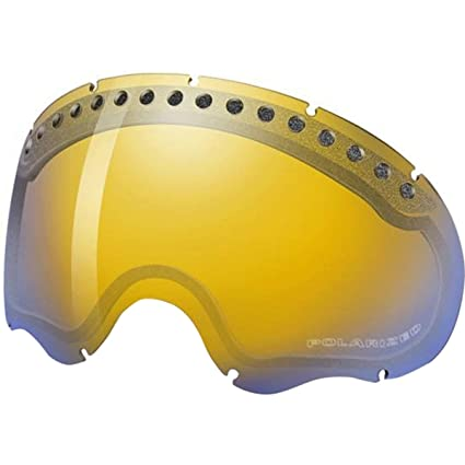 3bacfbac9b Oakley A-Frame Replacement Lens Snow Goggles Accessories - H.I.Amber  Polarized One Size