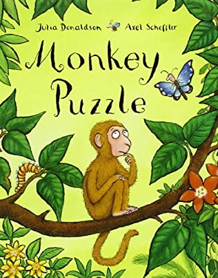 book cover of Monkey Puzzle