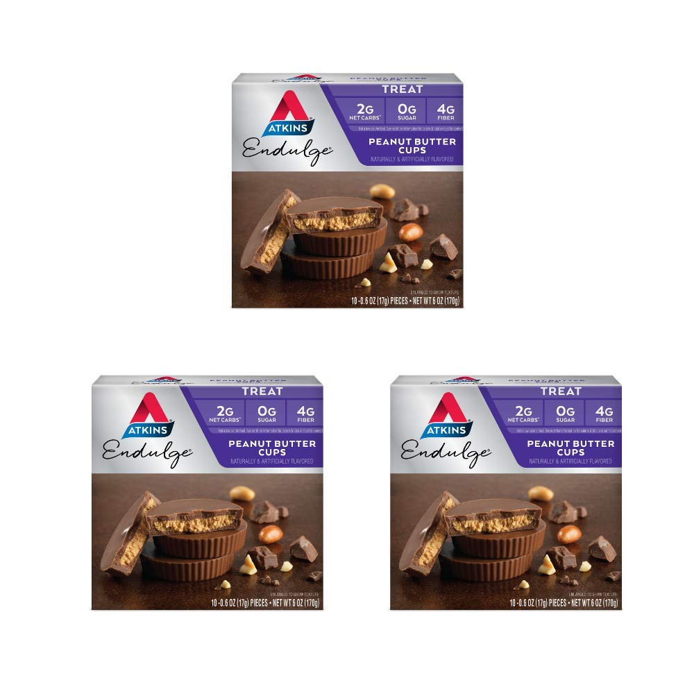 Atkins Endulge Treat, Peanut Butter Cups, Keto Friendly, 30 Count by Atkins (Image #1)