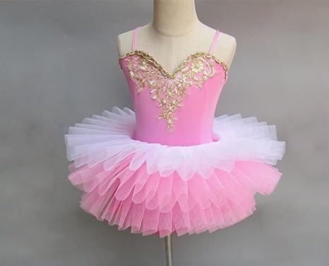 SMACO Bailarina De Vestir para Niñas Traje De Falda De Ballet ...