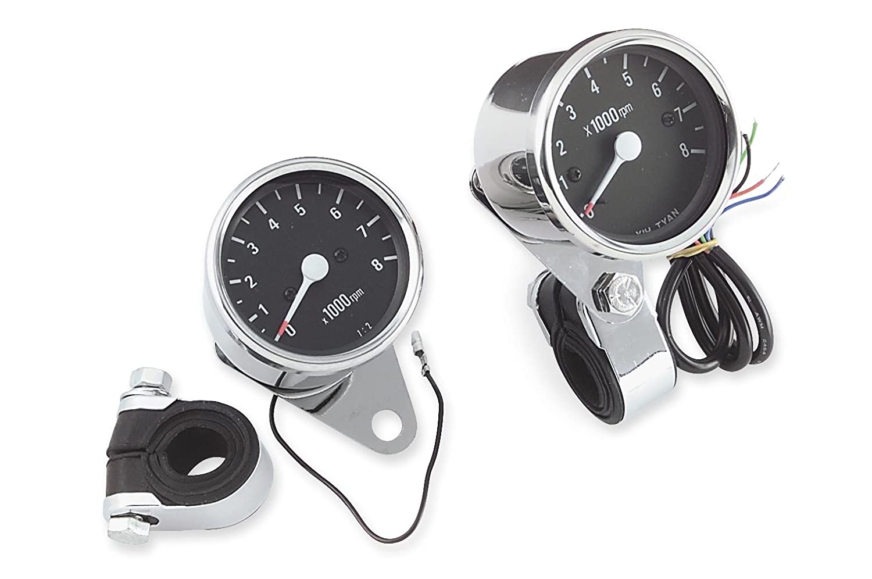 Biker's Choice Electronic Custom Mini Tachometer Biker' s Choice 49-3374 tr-493374