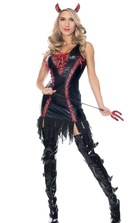 Amazon.com: Diablo halloween disfraces – sexy mujer Dark ...