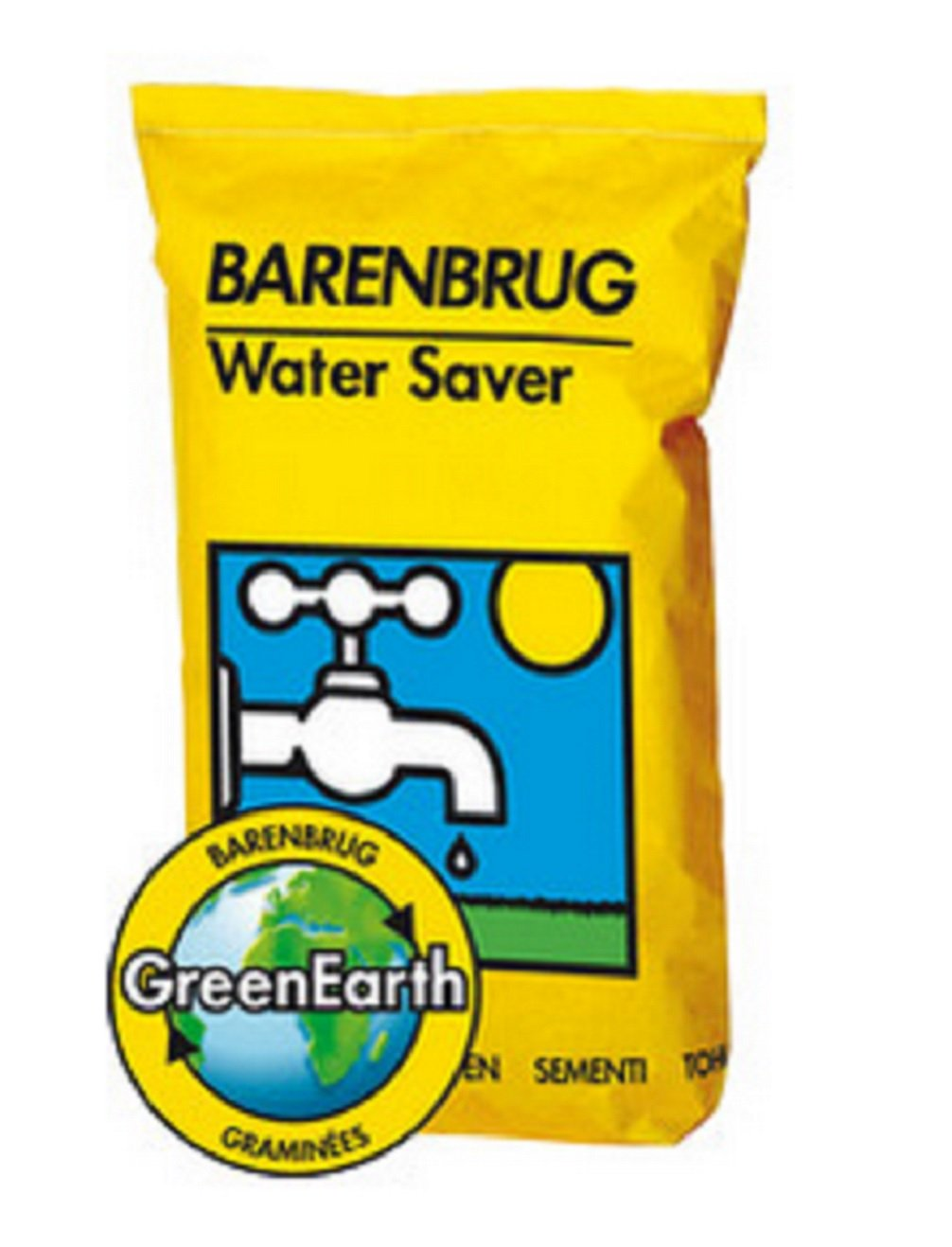 Rasensamen Barenbrug Water Saver 20 kg - Great in Grass - Mischung für Trockenflächen Grassamen