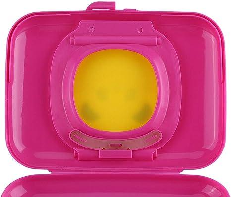 Caja de almacenamiento de toallitas h/úmedas Rose/&Yellow cochecito de viaje al aire libre Caja de toallitas h/úmedas Dispensador de caja de pa/ñuelos Caja de toallitas h/úmedas port/átil para cochecito