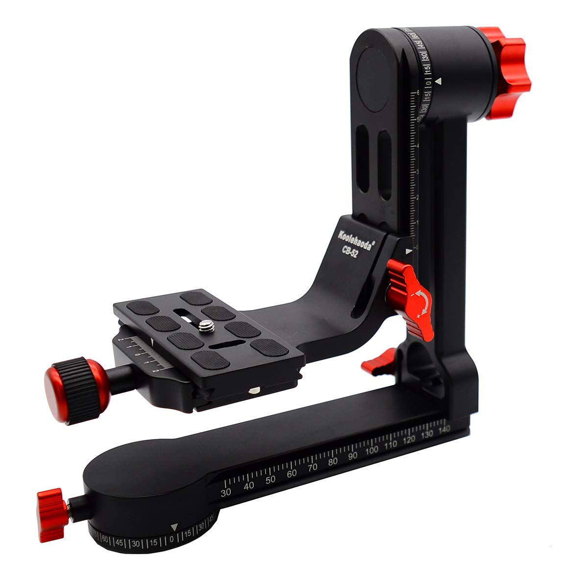 koolehaoda CB-52 Gimbal Tripod Head 360° Panoramic Head with 100mm Quick Release Plate Carry Bag (CB-52 Panoramic Head) by koolehaoda (Image #3)