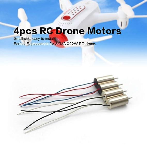4 piezas RC Drone Motors CCW CW Motor Motor Drone Repuestos para ...
