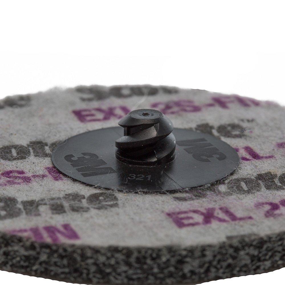 MaxiDetail AD9200 Unitized Wheel 76mm 3M Silicon Carbide ROLOC EXL 2S FIN SCOTCH-BRITE
