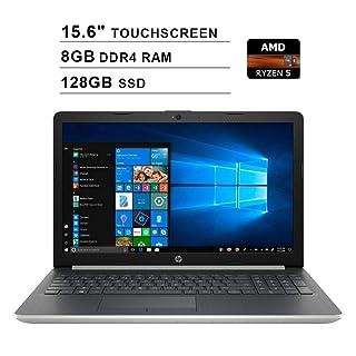 2019 Newest HP Pavilion 15 15.6 Inch Touchscreen FHD Laptop (AMD Quad Core Ryze 5 3500U up to 3.7 GHz, 8GB DDR4 RAM, 128GB SSD, AMD Radeon Vega 8, WiFi, Bluetooth, HDMI, Windows 10 Home, Silver)