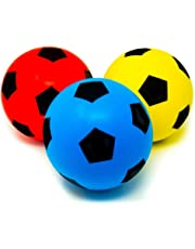 Pack of Three 20cm E-Deals Soft Foam Football (Pack of 3)