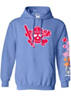 Sports Katz Womens 'Skullie' SOFTBALL Hoodie