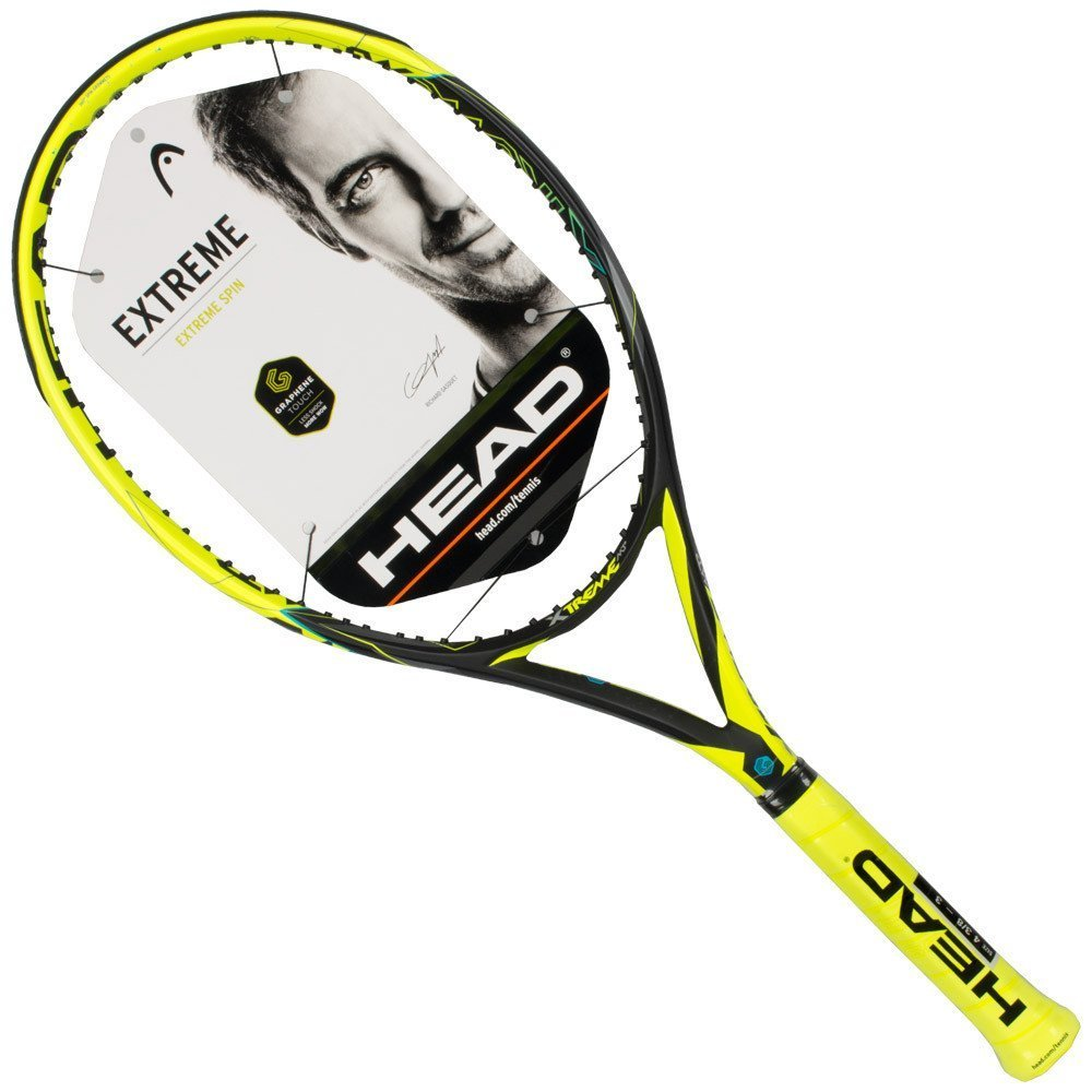 Amazon.com : HEAD Graphene Touch Extreme MP (MidPlus) Black/Yellow (4 1/4