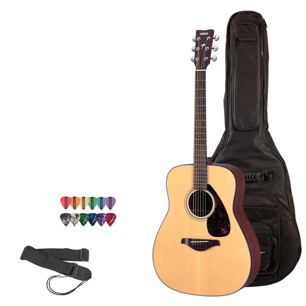 Yamaha FS800 N Acoustic Guitar with Accessory Pack
