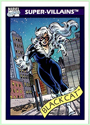 1990 Marvel Universe I #72 Black Cat Felicia Hardy -
