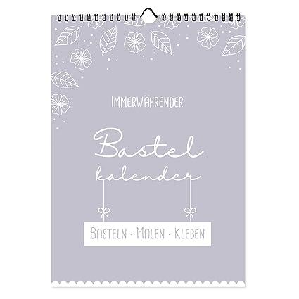 Bastelkalender Immerwährend Zum Selbstgestalten Din A4