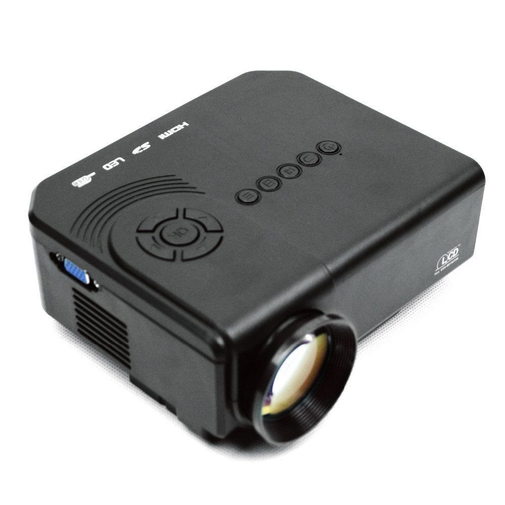 Chiefmax M3 LED Mini Projector - LCD TFT Digital Projector for Home Cinema Theater, VGA HDMI AV