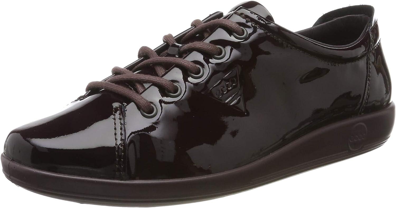 ECCO Soft 2.0, Zapatos de Cordones Derby para Mujer