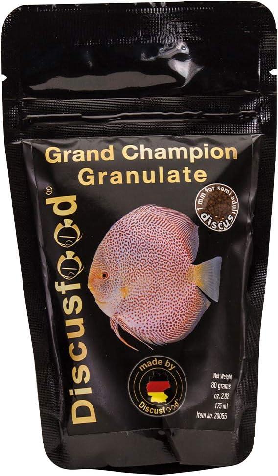 Discusfood Comida Gránulo Peces Disco - Grand Champion 80g