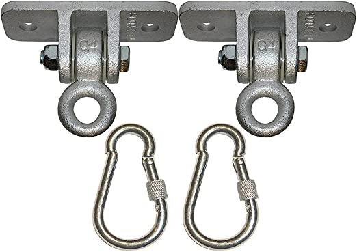 Byjia Swing Hangers Heavy Duty con Cierre De Ganchos, para Patio ...