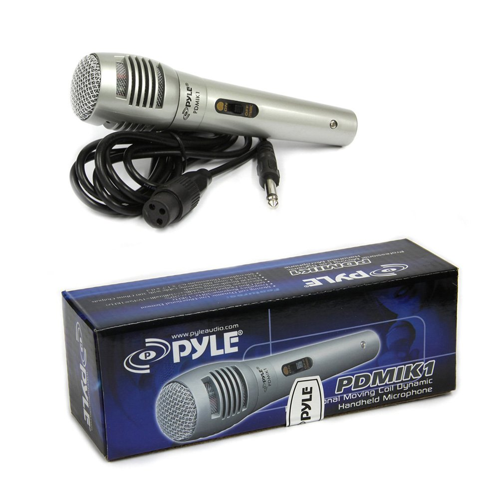 Pyle Pro Wired Dynamic Microphone Professional Moving Diagram Mike Mic Converter Circuit Coil Unidirectional Handheld With Built In Acoustic Pop Filter Rugged Construction