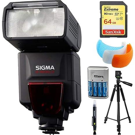Sigma flash EF-610 DG ST para Sony Cámaras Réflex (f19205) con 64 ...