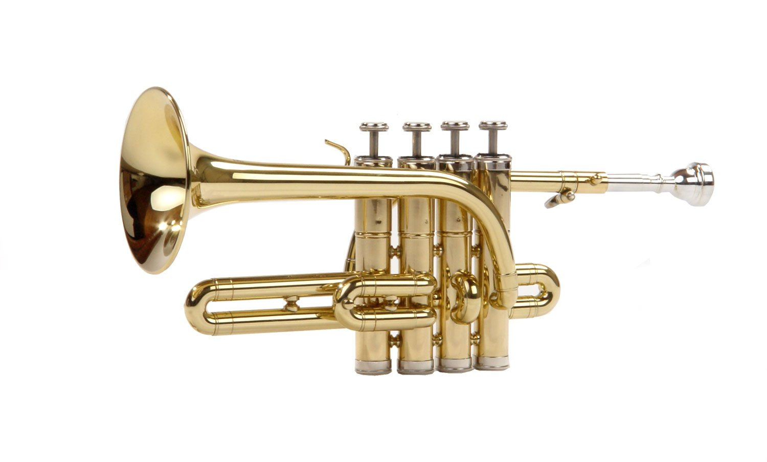 Classic Cantabile PT-180 Piccolo Trumpet Brass Tuned to B by Classic Cantabile